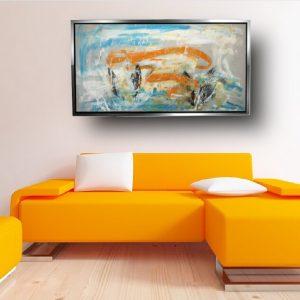 quadro astratto su tela moderno c561 300x300 - QUADRI ASTRATTI D'AUTORE