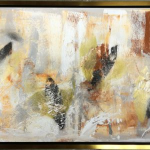 quadro con cornice oro c562 300x300 - QUADRI ASTRATTI D'AUTORE