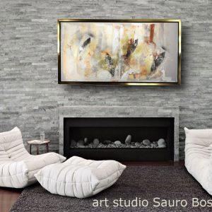 quadro su tela astratto con cornice c562 300x300 - QUADRI ASTRATTI D'AUTORE