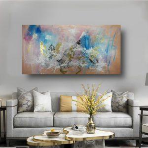 quadro dipinto a mano su tela moderno c576 300x300 - QUADRI ASTRATTI D'AUTORE
